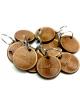 Custom wooden keychain