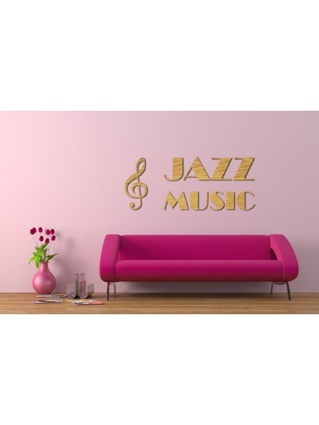 Jazz music od 30 x 20 cm do 200 x 100 cm