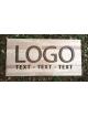 Vaše logo na podkladní desce světlé 80 x 40 cm
