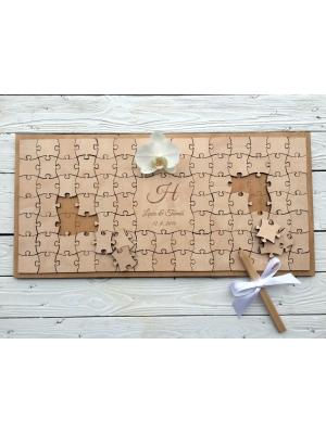 Guest book - Puzzle (Gästebuch für Hochzeiten usw.)
