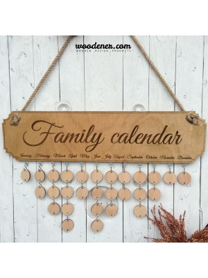 Rodinný kalendář