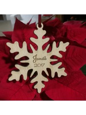 Dětská vánoční vločka - první Vánoce