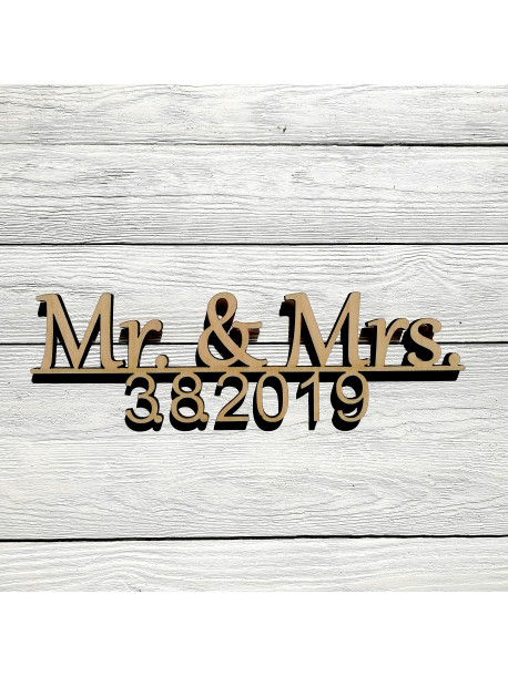 Mr. & Mrs. s datem