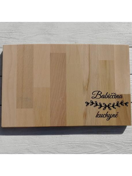 Custom wooden names